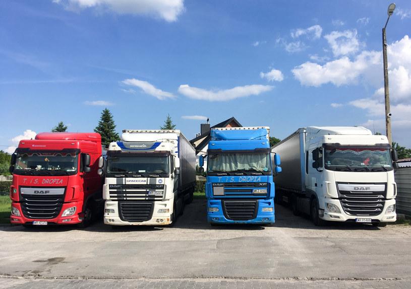Prawo UE kontra polscy kierowcy ciężarówek /Piotr Kamionka /Reporter