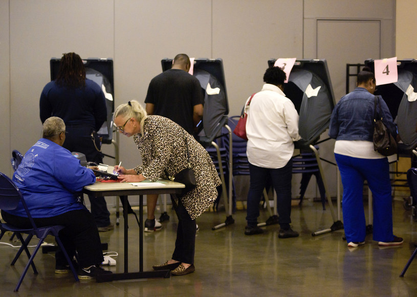 Prawybory w Teksasie /AFP