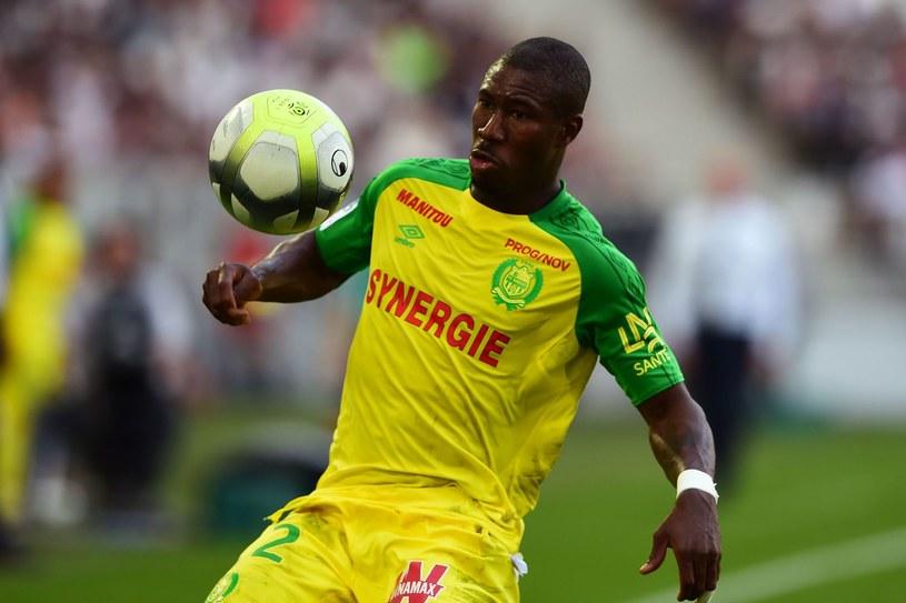 Prejuce Nakoulma już w barwach Nantes, w którym grał już po odejściu z Górnika. To najbardziej kochany Afrykańczyk przez zabrzańskich kibiców /AFP