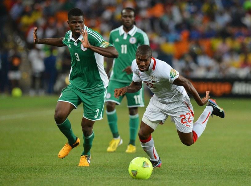 Prejuce Nakoulma w barwach Burkina Faso podczas starcia z Nigerią na Pucharze Narodów Afryki. /AFP