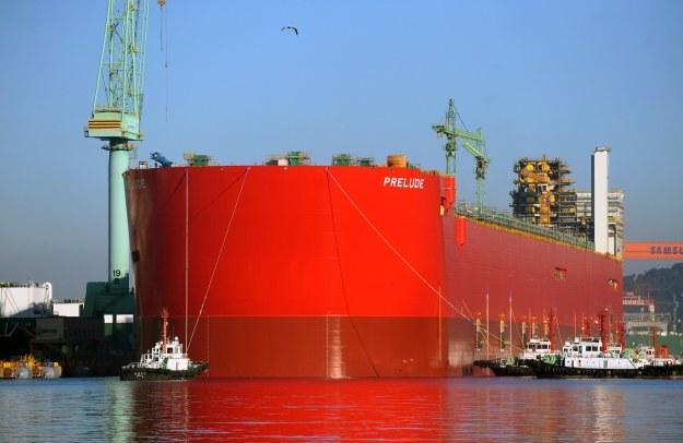 Prelude FLNG ma 488 metrów długości /materiały prasowe