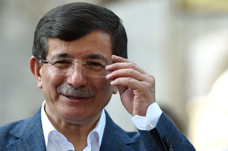 Premier Ahmet Davutoglu /AFP