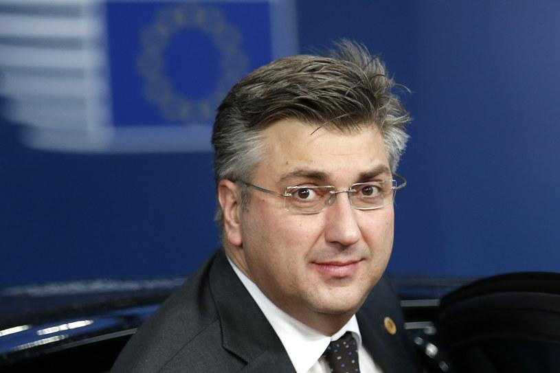 Premier Andrej Plenković /FRANCOIS LENOIR /AFP
