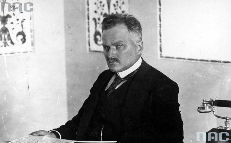 Premier Antoni Ponikowski /Z archiwum Narodowego Archiwum Cyfrowego