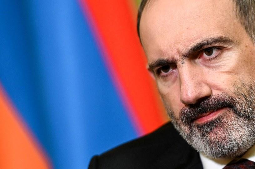 Premier Armenii Nikol Paszynian wygłosił orędzie w sprawie podpisanego porozumienia, zdjęcie ilustracyjne /AFP /AFP