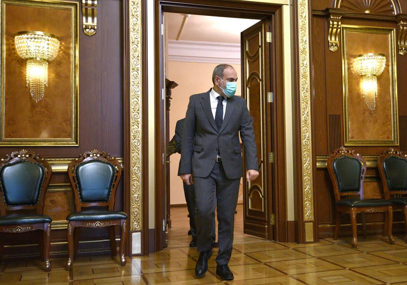 Premier Armenii Nikol Paszynian /AFP