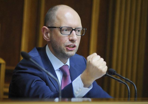 Premier Arsenij Jaceniuk /AFP