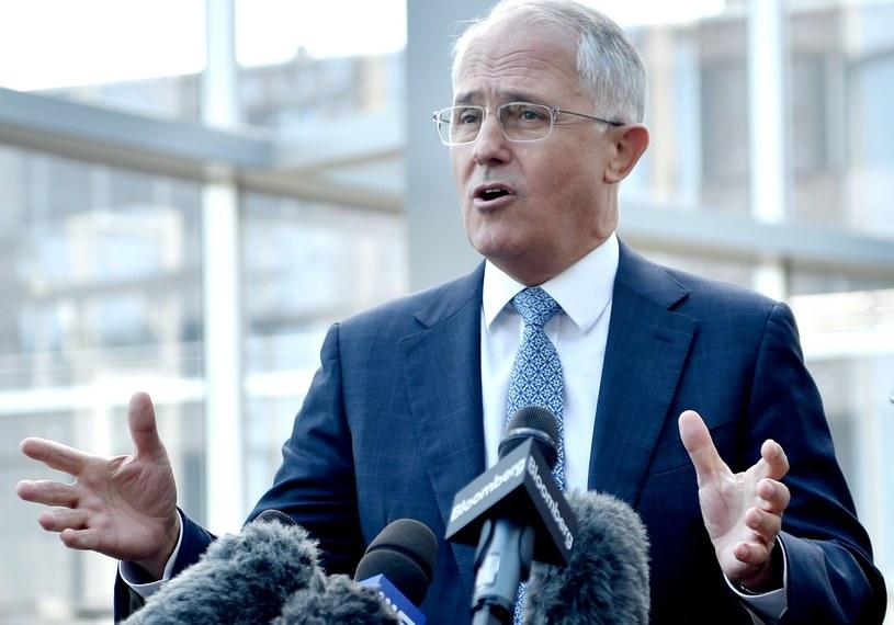 Premier Australii skrytykował Europę po zamachach /AFP