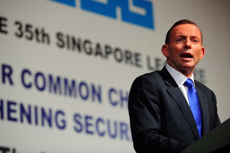 Premier Australii Tony Abbott /AFP