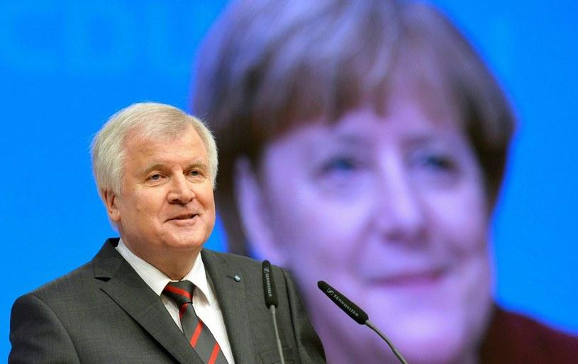 Premier Bawarii - Horst Seehofer /AFP