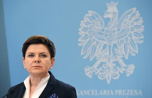 Premier Beata Szydło, fot. Radek Pietruszka /PAP