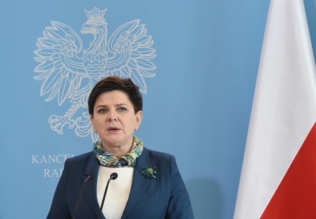 Premier Beata Szydło /fot. Radek Pietruszka /PAP