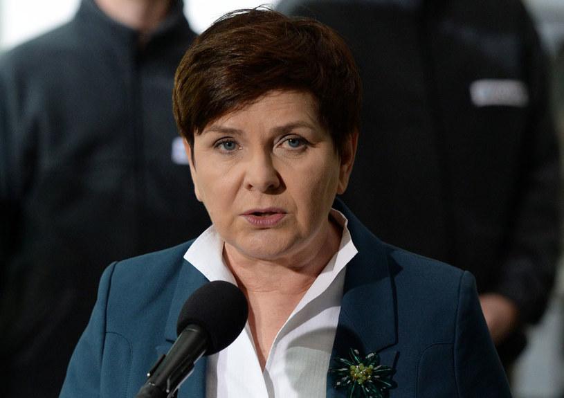 Premier Beata Szydło: Jeżeli ktoś ma inny pogląd, to jest jego decyzja i może zrezygnować /Piotr Polak /PAP