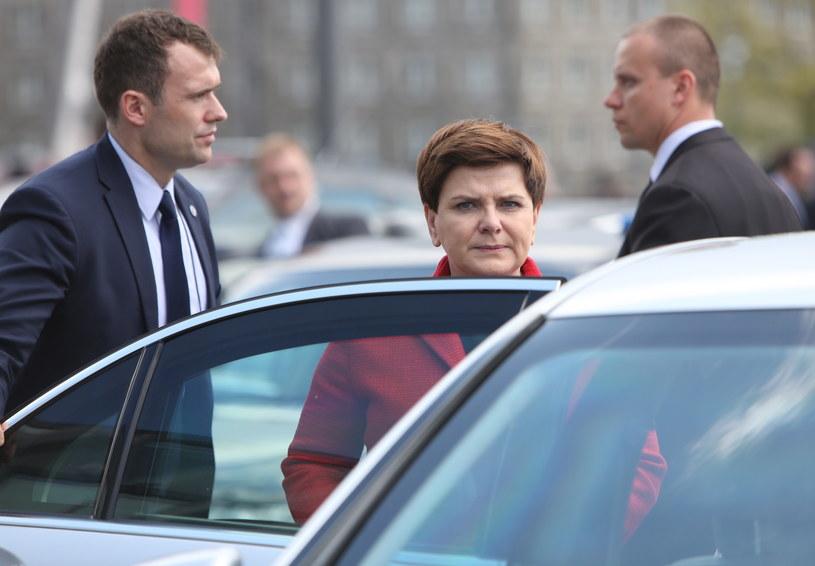 Premier Beata Szydło pod szczególną ochroną /Leszek Szymański /PAP