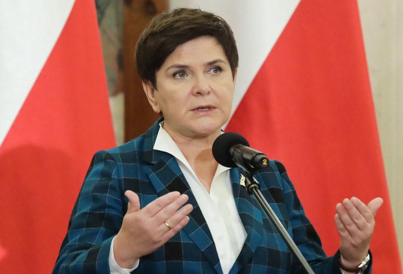 Premier Beata Szydło pozostanie na stanowisku /Tomasz Gzell /PAP