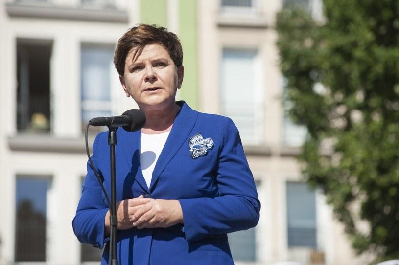 Premier Beata Szydło; Próba ucieczki od odpowiedzialności za reprywatyzację jest dla polityka dyskredytująca /Wojciech Stróżyk /Reporter