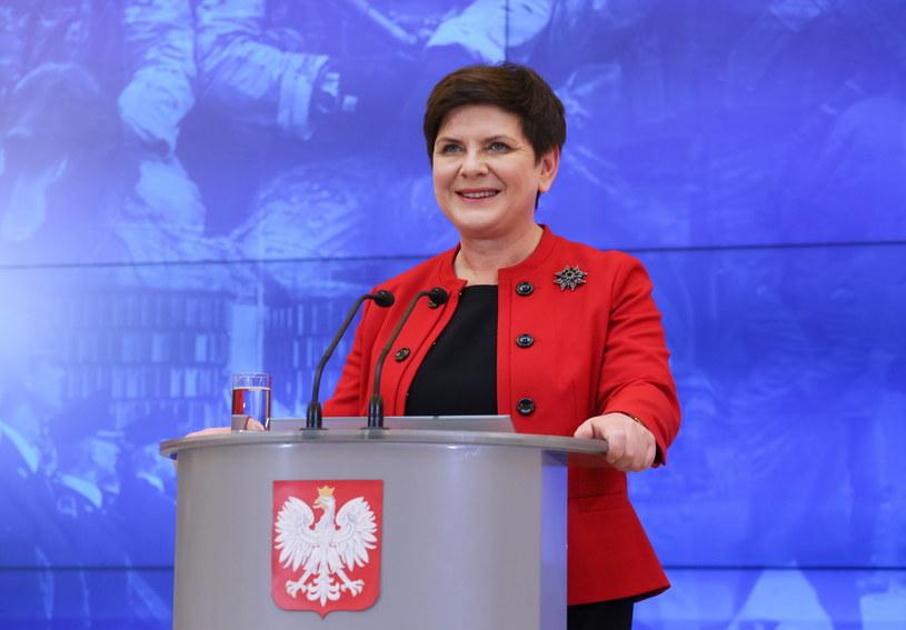 Premier Beata Szydło: Rekonstrukcję rządu się robi, a nie o niej opowiada /Paweł Supernak /PAP