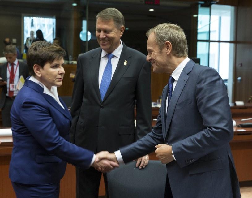 Premier Beata Szydło spotka się z Donaldem Tuskiem /Therry Monase /Reporter