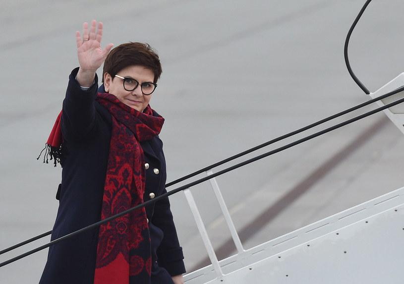 Premier Beata Szydło udaje się do Brukseli na unijny szczyt /Radek Pietruszka /PAP