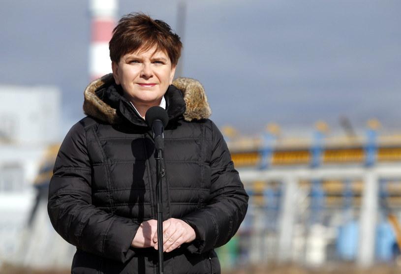 Premier Beata Szydło w Jaworznie /Andrzej Grygiel   (PAP) /PAP