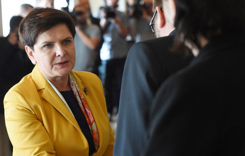 Premier Beata Szydło w środę poinformuje w zmianach w rządzie /PAP