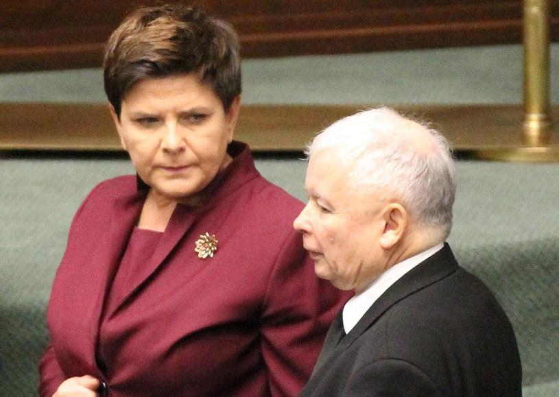 """""""Premier Beata Szydło wielokrotnie rozmawiała z prezesem Jarosławem Kaczyńskim"""" /Robert Ostrowski /East News"""