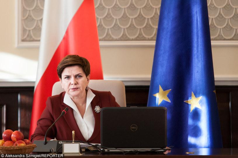 Premier Beata Szydło, zdj. ilustracyjne /Aleksandra Szmigiel-Wisniewska/REPORTER /East News