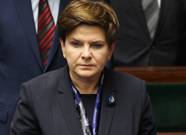 Premier Beata Szydło /STANISLAW KOWALCZUK /East News