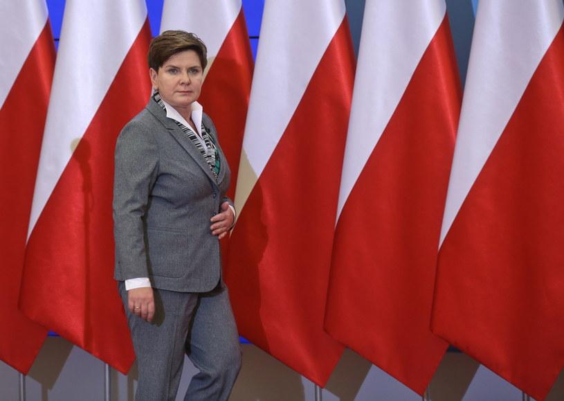 Premier Beata Szydło /Rafal Guz /PAP
