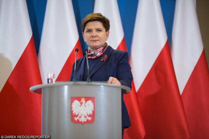 Premier Beata Szydło /Darek Redos /Reporter /East News