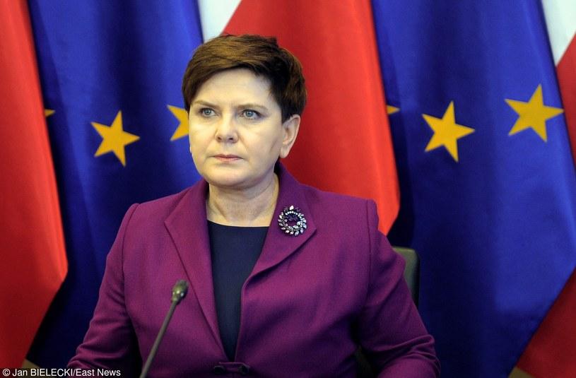 Premier Beata Szydło /Jan Bielecki /East News
