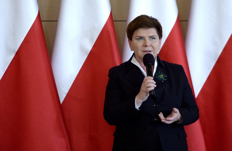 Premier Beata Szydło /Darek Delmanowicz /PAP