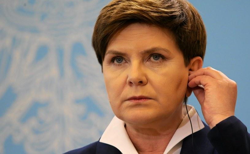 Premier Beata Szydło /Fot. Kuba Atys /