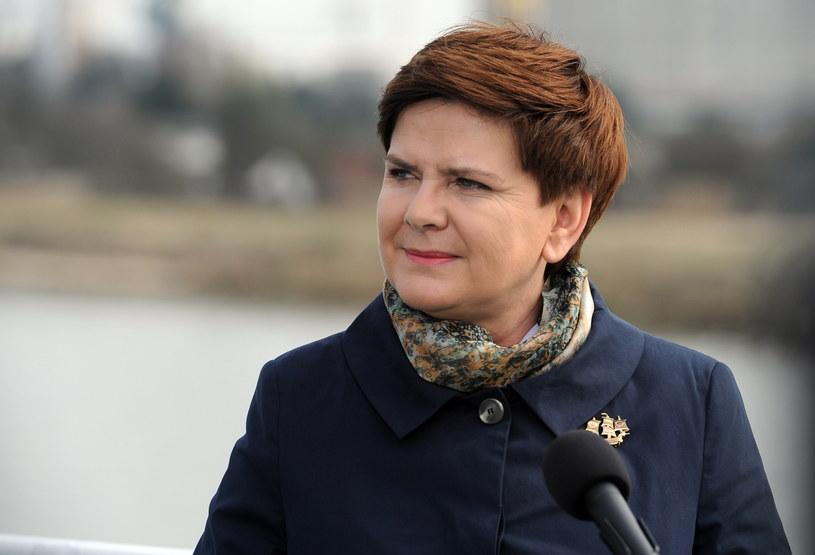 Premier Beata Szydło /Agencja SE/East News
