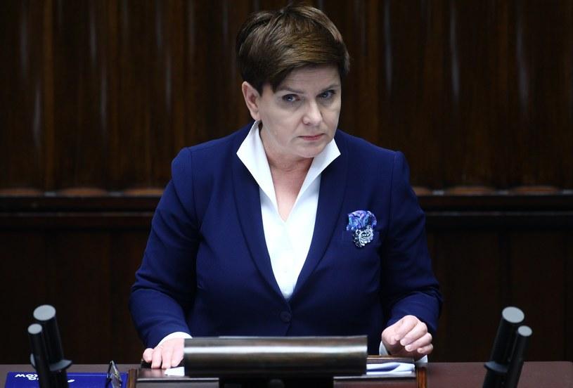Premier Beata Szydło /Stanisław Kowalczuk /East News