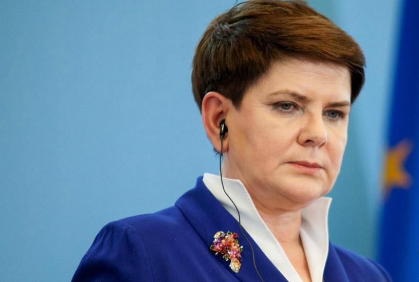 Premier Beata Szydło /Aleksandra Szmigiel-Wiśniewska /Reporter