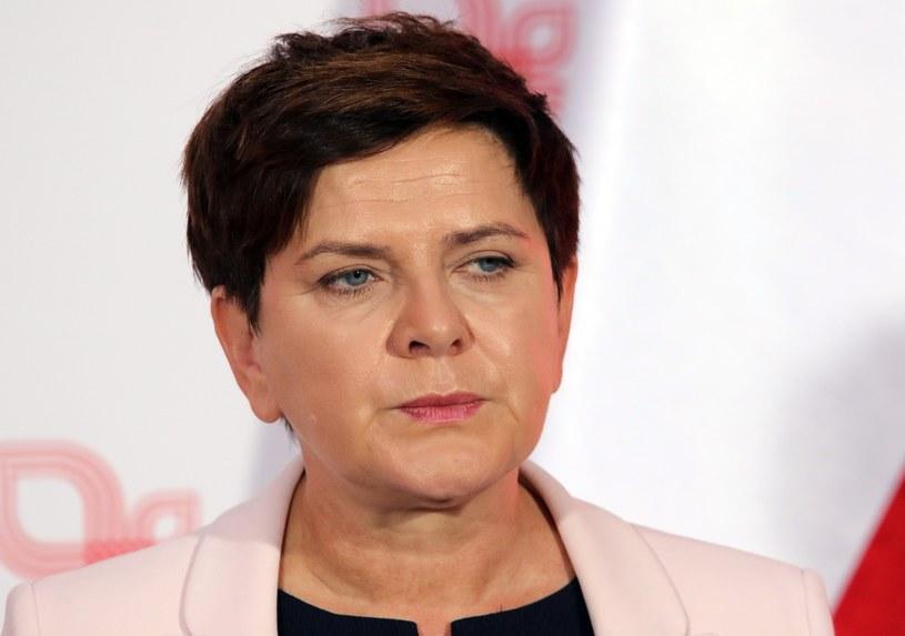 Premier Beata Szydło /Artur Barbarowski /East News