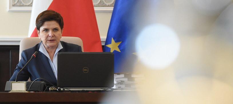 Premier Beata Szydło /Radek Pietruszka /PAP