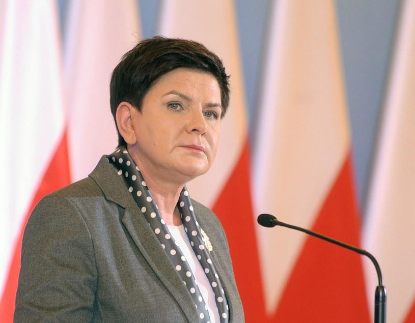 Premier Beata Szydło /Fot. Jan Bielecki /East News