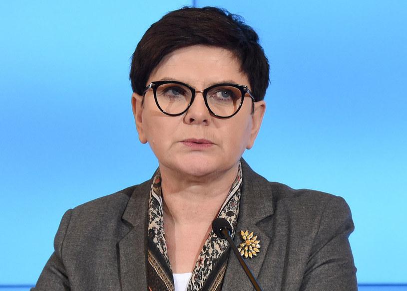 Premier Beata Szydło /Radek Piertruszka /PAP