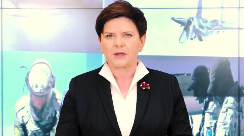 Premier Beata Szydło /kprm.gov.pl /Twitter