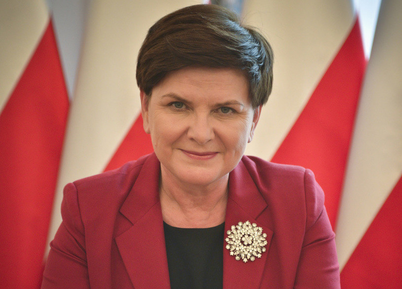 Premier Beata Szydło /Włodzimierz Wasyluk /East News