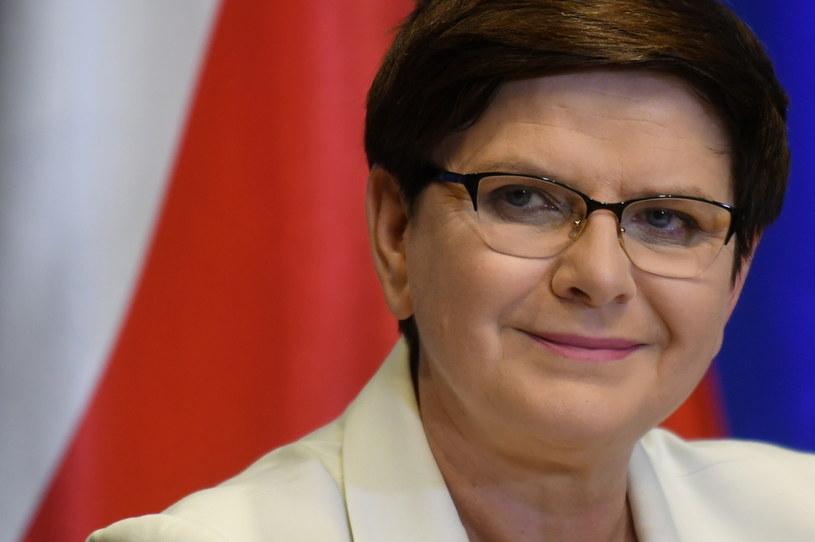 Premier Beata Szydło /Bartłomiej Zborowski /PAP