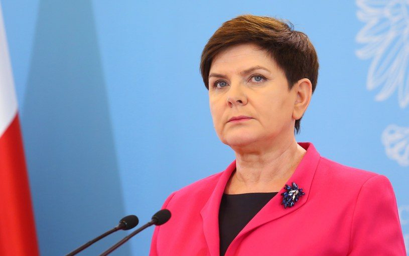 Premier Beata Szydło /Mariusz Grzelak /Reporter