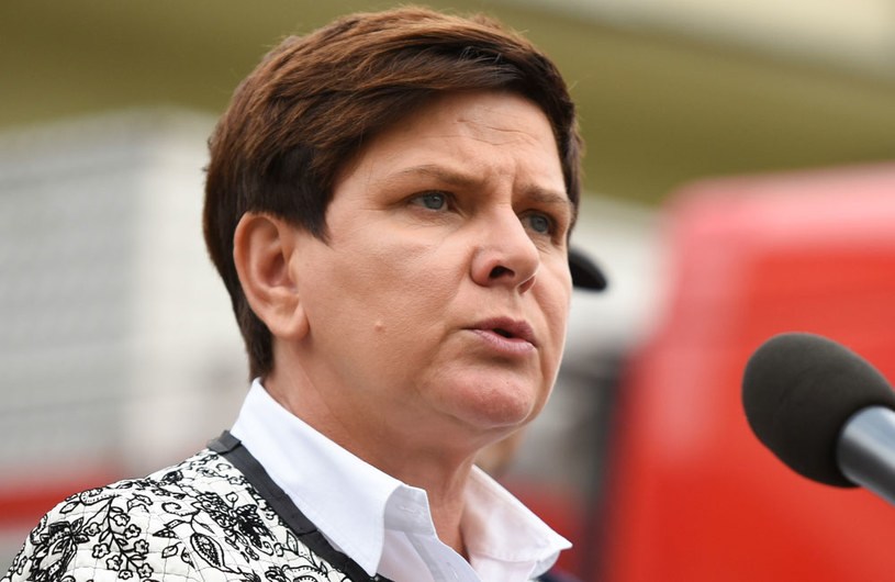 Premier Beata Szydło /Roman Jocher    /PAP