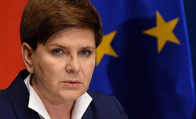 Premier Beata Szydło /PAP