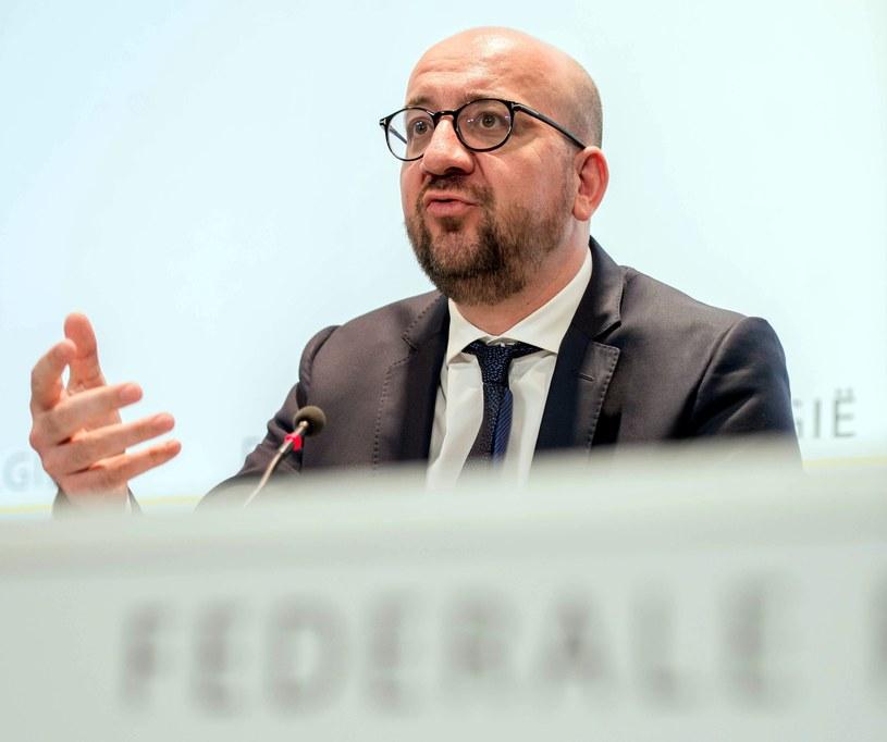 Premier Belgii Charles Michel /PAP/EPA