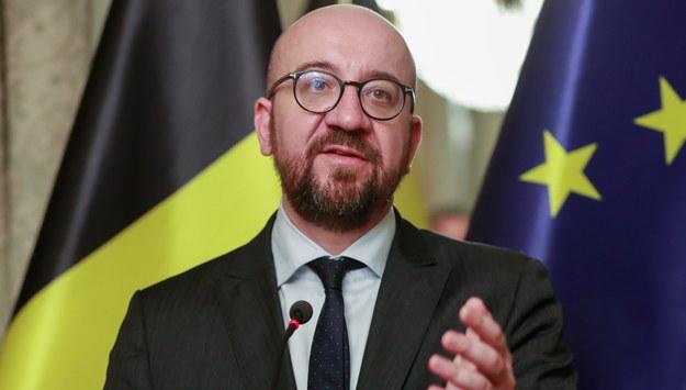 Premier Belgii Charles Michel /STEPHANIE LECOCQ  /PAP/EPA
