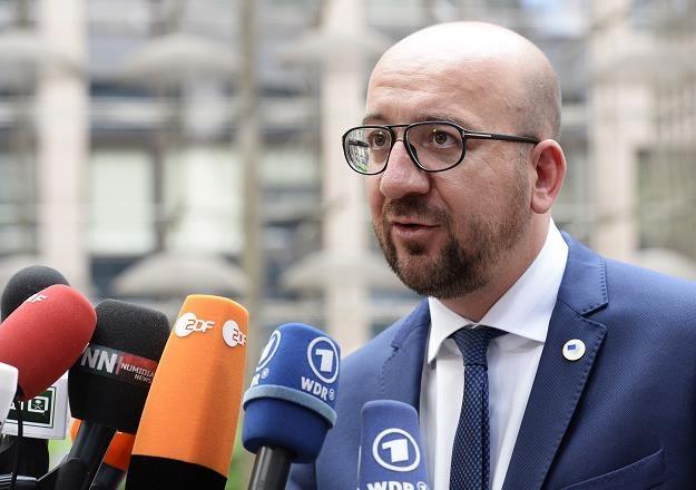 Premier Belgii Charles Michel /AFP