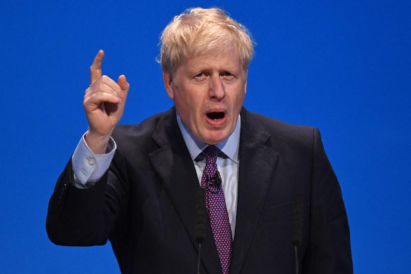 Premier Boris Johnson /Oli Scarff /AFP